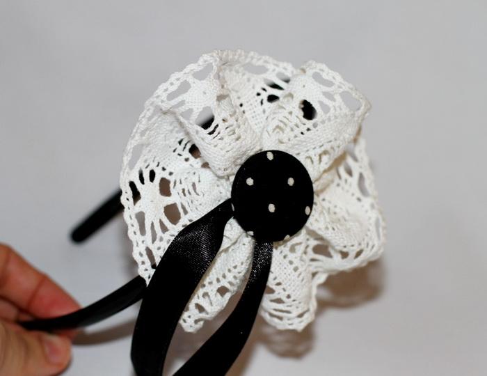 Accesorii par handmade-bentita flori (2)