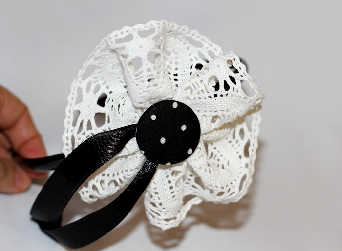 Accesorii par handmade-bentita flori (3)