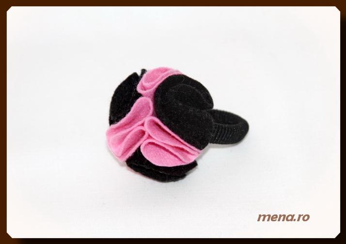Accesorii pentru par handmade - elastic si cordeluta (11)