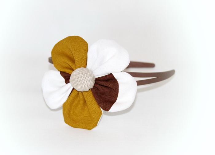 Accesorii pentru par handmade - elastic si cordeluta (5)