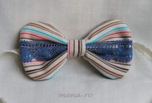 Bijuterii, accesorii pentru par si brose textile handmade