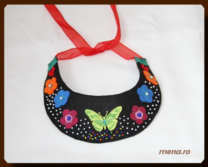 Bijuterii handmade - coliere din fetru (14)