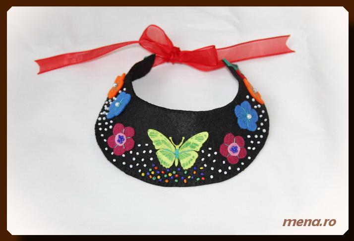 Bijuterii handmade - coliere din fetru (9)
