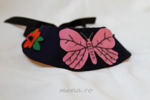 Bijuterii handmade cu fluturi