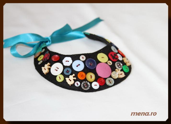 Bijuterii handmade din fetru-coliere, bratari, cercei (20)