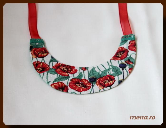 Bijuterii handmade din fetru-coliere, bratari, cercei (23)