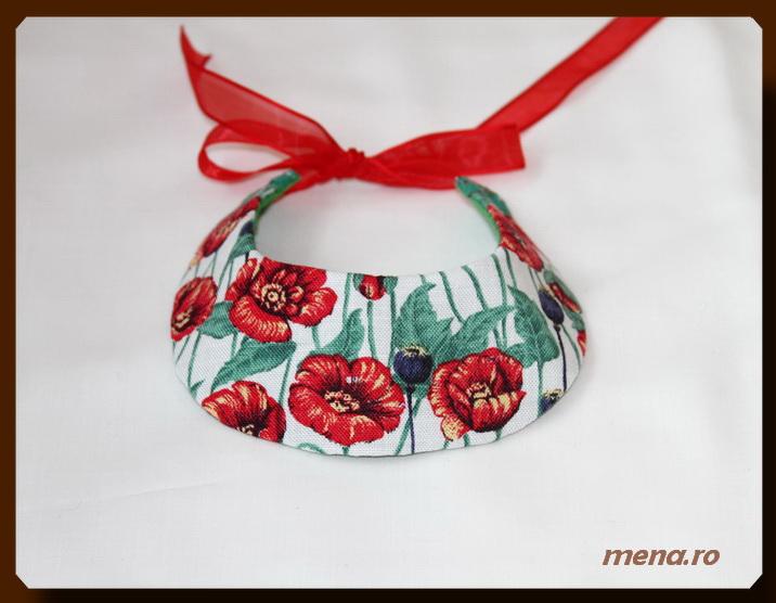 Bijuterii handmade din fetru-coliere, bratari, cercei (25)