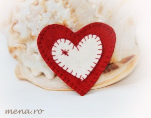 Inima handmade Sf  Valentin