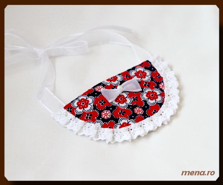 Bujuterii handmade pentru femei - colier dantela (10)