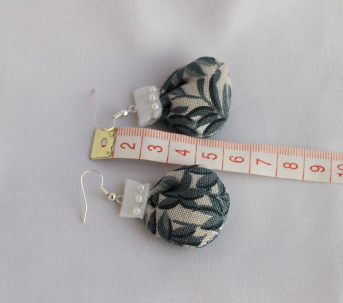 Cercei handmade cu fetru si dantela (6)