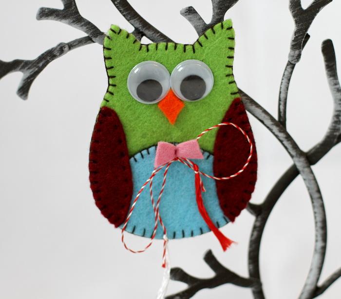 Martisor handmade fetru-bufnita (7)