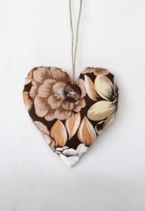 Inimioara handmade pentru decoratea casei