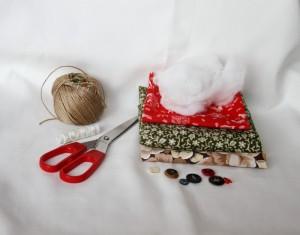 Inimioara handmade din materiale reciclate