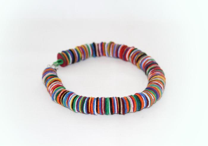 bijuterii handmade din fetru - colier (4)
