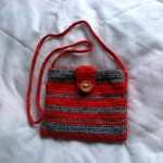 Poseta handmade crosetata