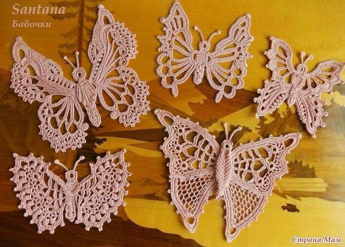 Diferite ornamente crosetate